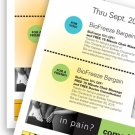 Cali Chiro Coupon Sheets